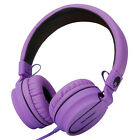 RockPapa Foldable Folding On Ear Headphones Headsets Mic for iPod iPad iPhone PC New