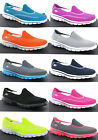 Skechers Go Walk 2 Womens Walking Comfort Plimsolls Shoes Trainers Pumps UK3-8
