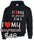 HOODIE * I LOVE MY boyfriend E46 * Tuning m3 3er Kult bmw 3 SATIRE SWEATSHIRT