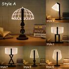 3D LED Dimmable Bed Table Desk Reading Wooden Lamp Home Night Light Warm White