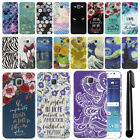 For Samsung Galaxy J7 J700 PATTERN HARD Back Case Phone Cover + Pen