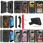 For Samsung Galaxy Amp 2 J120 Holster Belt Kickstand Clip Case Animals