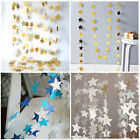 Star Shape Paper Garland Bling Strings Wedding Party Baby Shower Hanging Deco