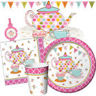TEA TIME Birthday Party Range - Cupcakes Tableware Balloons & Decorations