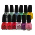 China Glaze Nail Polish Lacquer 0.5oz/15ml *Chose any 1 color* III