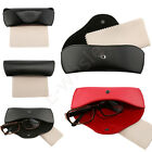 Brand New Faux Leather Eyeglasses Box Portable Presbyopia Glasses Protector Case
