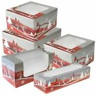 Christmas Cake Box Cupcake Yule Log & Mince Pie boxes Various Sizes & Quantities