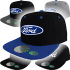 Ford Logo Cap Snap Back Hat F150 Truck Raptor Oval GT500 Racing Shelby Mustang
