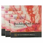 Bockingford Watercolour paper Block 12 Sheets 300gsm Hot Pressed Assorted Sizes!