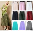 Fancy Tulle Drape Long Skirt Candy Dress Tulle Maxi Skirt -  Free for S/M