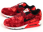 Nike Wmns Air Max 90 Anniversary Gym Red/Black-Infrared-Metallic Gold 726485-600