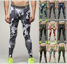 New Men Sports Apparel Skin Tights Compression Base Under Layer Workout Pant Lot