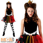 Tween Queen Of Hearts Girls Costume Wonderland Kids Accessory Set Fancy Dress