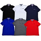 Tommy Hilfiger Mens Polo Shirt Classic Fit Interlock Knit Embroidered Logo New
