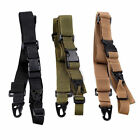 Adjustable Tactical 3 Point Hunting Bungee Rifle Sling Strap Quick Detach Strap