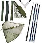 "50"" INCH CARP FISHING NGT LANDING NET 2M HANDLE STINK BAG 3M 4M 5M CARBON"