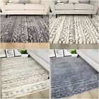NEW Nordic Bohemian Moroccan Faint African Microfibre Soft Fleece Floor Area Rug