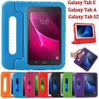 "Kids ShockProof Handle Cover Case For Samsung Galaxy Tab A 7""/ Tab E 9.6""/ S2 8"""