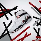Nike Air Jordan 8 Retro VIII Alternate Collection White Red Men AJ8 305381-104