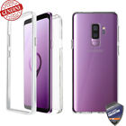 For Galaxy S8 / Plus Case 360° 3D Full covered Clear Fusion ShockProof Cover