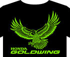 T shirt up 5XL Honda Goldwing motorcycle biker classic collectors pannier tyre