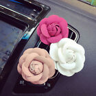 Car Camellia Flower Air Outlet Perfume Clip Freshener Diffuser Ornament Hot Sale