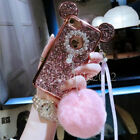 Girly Glitter Bling Sparkle Diamond Crystal Gel Case Cover For iPhone 7 6s Plus