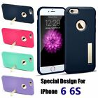 Luxury Kickstand Hybrid Case Shockproof Hard Rubber TPU Cover for iPhone 6 6S
