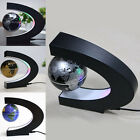 Floating World Map Magnetic C Shape Levitation Globe Home Décor Gifts