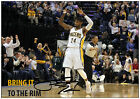 PAUL GEORGE #24 INDIANA PACERS SIGNED NBA SINGLE PHOTO EAST CONFERENCE ALL STAR