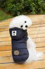 USA Jacket Pet Winter Cotton Coat Hoodie Hat Warm Apparel Puppy Cat Dog Clothes