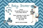 6x4 Personalised Boys Baby Shower Invitations - Envelopes Included Free P&P