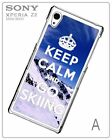 Ski Skiing Sport Snow Mountaine Boots Hard Case for Sony Xperia Z2 D6502/D6503