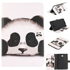 Fashion Cute Panda Flip Magnetic PU Leather Cards Stand Cover Case For Tablets