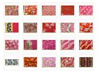 26 PRINTS REDS PINK HAWAIIAN FLORAL PRINT POLY COTTON FABRIC $4.99/YD FREE SHIP