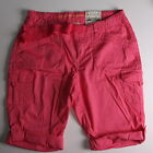 AZ BRAND GIRLS PINK ADJUSTABLE WAIST BERMUDA SHORTS NWT 12R OR 8 SLIM