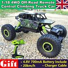 2.4G 4WD 1/18 off-road Rock Crawler Rally RC Car Electric RTR Buggy Truck Hobby