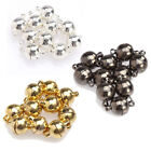 Wholesale 10 sets two parts powerful magnetic round clasps DIY jewelry findings