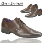 New Mens Charles Southwell Brogue Ambassador Official Shoes Office Work UK 7-12