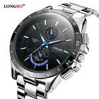 LONGBO Fashion Sports Quartz Watches Men Luminous Waterproof Military Watch C4S1