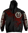 THE WALKING DEAD Walker Security HOODIE SWEATSHIRT + ZIP OFFICIAL MERCHANDISE
