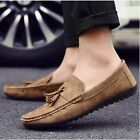 2017 New Fashion England Men's Driving Moccasin Loafer Leather Casual Shoes