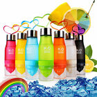 650ml Sport Bottle Exercise Colorful Bottle Fruit Infusing Water Bottle Juice