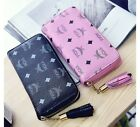2017 WOW Lady long Wallets Print Soft PU Leather Women Phone Card Handbag Gift