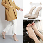 Clear Transparent Lucite Perspex Open Peep Toe Ankle Strap High Heels Sandals
