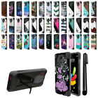 For LG Stylus 2 Plus Stylo 2 Plus MS550 Hybrid Dual Layer Stand Case Cover + Pen