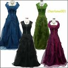 Cherlone Satin Ballgown Wedding/Evening Formal Prom Full Length Bridesmaid Dress