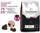 Canagan Country Game Grain-Free Dry Cat Food in 375g, 1.5kg, 4kg