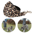 Pets Dogs Cat Puppy Collar Training Leash Lead Harness Set Leopard Print Rope  L