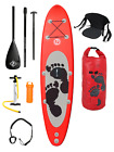 ENTRADIA III Stand Up Paddleboard Inflatable SUP 10ft - Deluxe Carbon Guide Pack